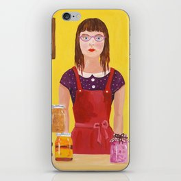 Hipsters Gonna Can iPhone Skin