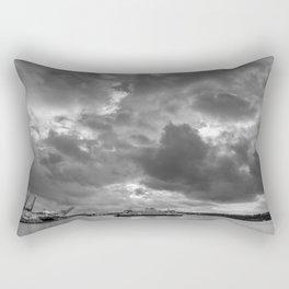Elliott Bay Ferry Rectangular Pillow