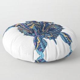 Sea Turtle (Color Version) Floor Pillow