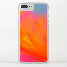 Happy colours 1 Clear iPhone Case