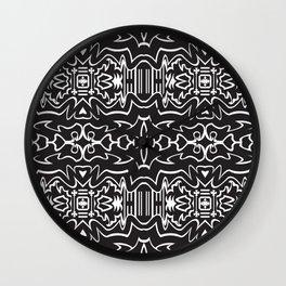 Order_pattern Wall Clock
