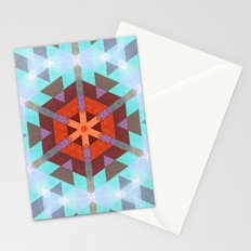 Geo Metrics 3 Stationery Cards