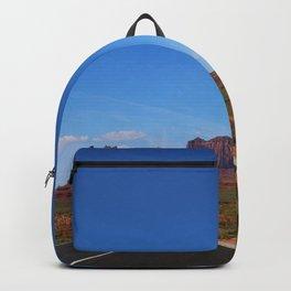 Traveling On Highway 163 Backpack