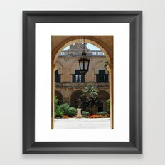 Old traditional Palace Framed Art Print