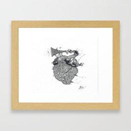 Emotional Sound Framed Art Print
