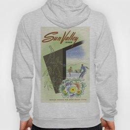 Vintage poster - Sun Valley, Idaho Hoody