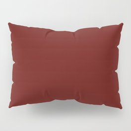 Jam Red, Solid Red Pillow Sham