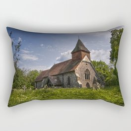 Selmeston Church Rectangular Pillow