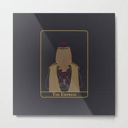 The Empress - Illustration Metal Print