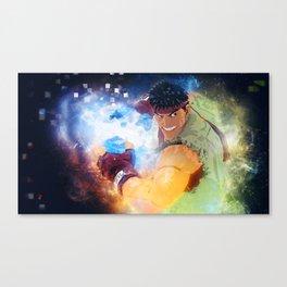 Ryu Denjin Hadoken Canvas Print