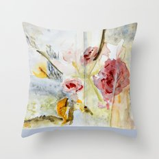 fragmented view Throw Pillow