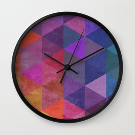 Fire to Ice Wall Clock