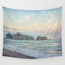 Sea Stacks  Wall Tapestry