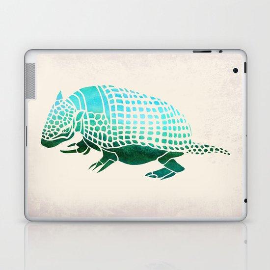 Watercolor Armadillo Laptop & iPad Skin