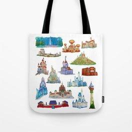 Princess Castles Tote Bag