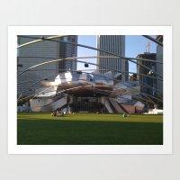 Chicago Lawned Art Print