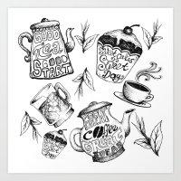 Elements Of Good Time Art Print
