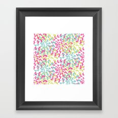 Four Seasons and the Circle of Life Framed Art Print