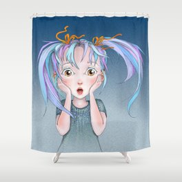 The Gasp Shower Curtain