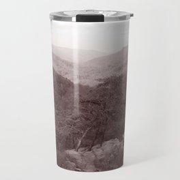Cloudland Canyon State Park, Georgia in Sepia Tone Travel Mug