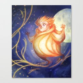 Yellow Dreams - Sandy Canvas Print