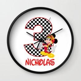Mickey Roadster Racers Wall Clock