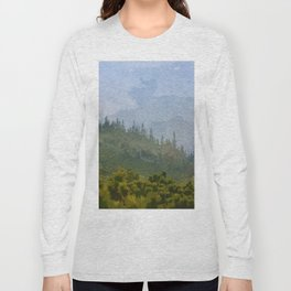 Endless Verdant Pine Hills Long Sleeve T-shirt