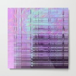 Softest Possible Glitch 01 Metal Print