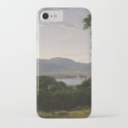 Asher Brown Durand - Beacon Hills on the Hudson River, Opposite Newburgh iPhone Case