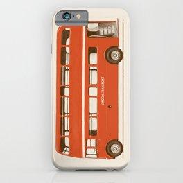 Double-Decker London Bus iPhone Case