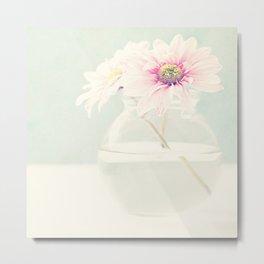 Soft flower. Metal Print