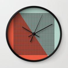 Farbe//Two Wall Clock