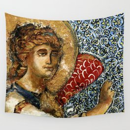 Figure Painting Angel Wall Tapestry