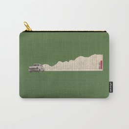 Torn Around - Racing Car Carry-All Pouch