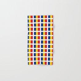 Flag of romania-romania,romanian,balkan,bucharest,danube,romani,romana,bucuresti Hand & Bath Towel