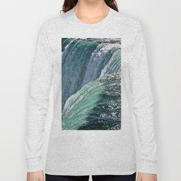 Niagara Falls - Closeup Long Sleeve T-shirt