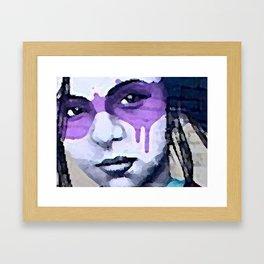 The Eyes Have It Framed Art Print