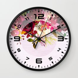 Flowers bouquet #38 Wall Clock