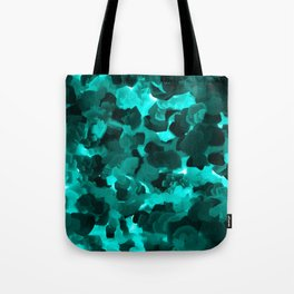 Clear Blue Fluidity Tote Bag