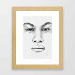 Finn / John Boyega Framed Art Print