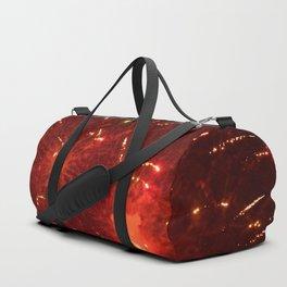 Red Fireworks Duffle Bag