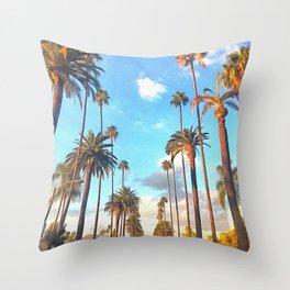 L.A. Morning Throw Pillow