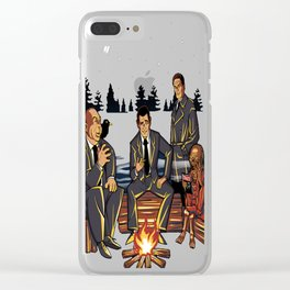 The Crypt Presents Twilight Mysteries Clear iPhone Case