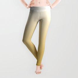 Mustard Yellow and White Gradient Leggings
