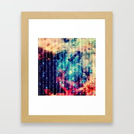 Galaxy Arrows Framed Art Print
