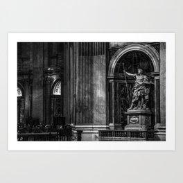 Inside The Vatican Art Print