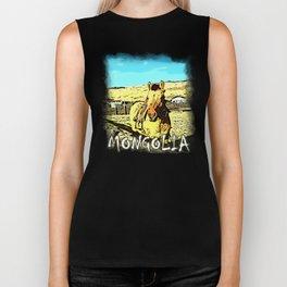 Mongolia Horse Treks (at Mountain Rubia) Biker Tank