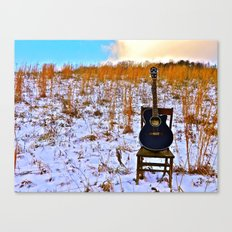 Winter's Song Canvas Print