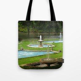 Garden of Fountains Tote Bag