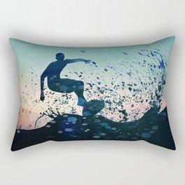 Waverider Rectangular Pillow